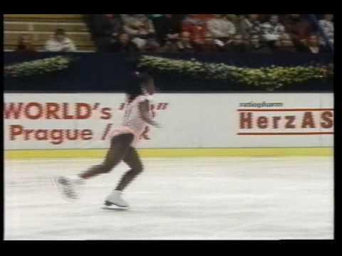 Surya Bonaly (FRA) - 1993 European Figure Skating Championships, Ladies' Free Skate