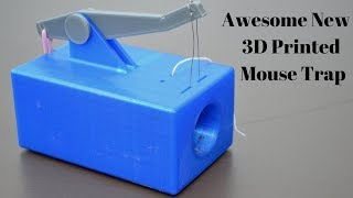 Another Awesome 3D Printed Mouse Trap Invented By A Youtube Viewer - Mascall's 427 Year Old trap.