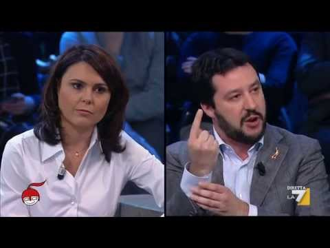 Matteo SALVINI a DiMartedì [Compilation - 27/01/2015]