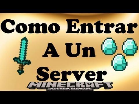 Como entrar a un server minecraft pe 0 7 4 0 7 5