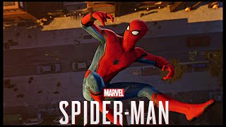 Spider-Man PS4 Opening With MCU Suit
