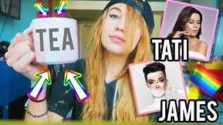 I Ate Like James Charles and Tati Westbrook for a Day