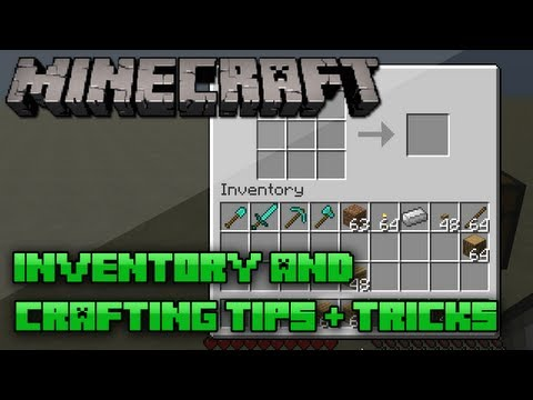 Minecraft: Inventory & Crafting Techniques/Tips | 1.5