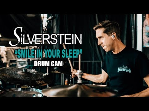 Silverstein | Smile In Your Sleep | Drum Cam (LIVE) thumbnail