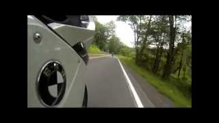 PA Route 125 on BMWK1300s and BMW R1100RSL on GoPro Hero3 Black--- Motorrad!
