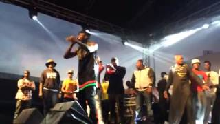 "Stonebwoy performs ""BAAFIRA"" at da Ghana x Uk Dancehall Clash"