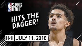 Trae Young Full Highlights vs Pacers (2018.07.11) NBA Summer League - 23 Pts, 8 Ast - DAGGER!
