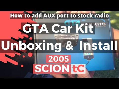 Scion TC GTA CAR KIT! Unboxing & Install!