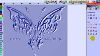 V Carving Ornament Wood CNC Router Low cost CAD CAM for everybody
