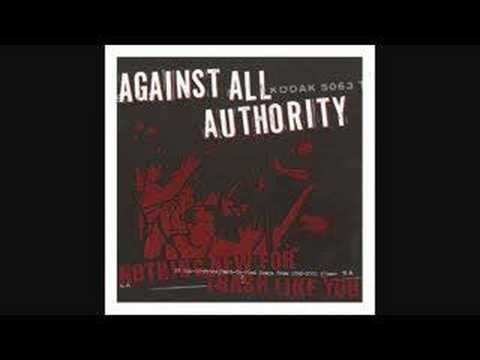 Against All Authority - When it Comes Down to You