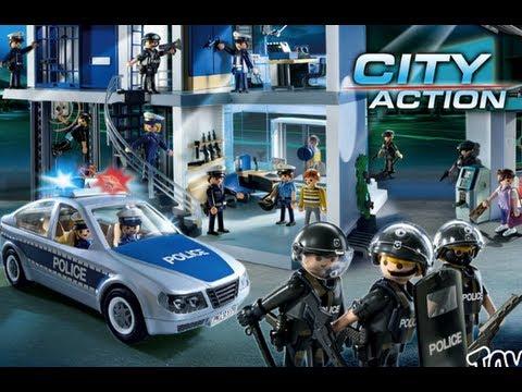 Playmobil police 2015 youtube - Playmobile policier ...