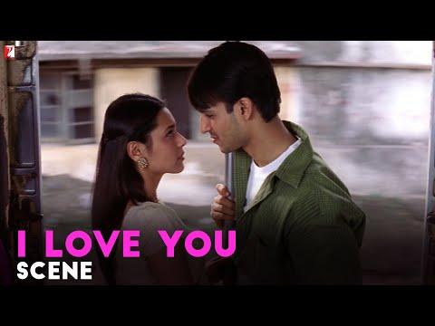 I Love You | Scene | Saathiya | Vivek Oberoi | Rani Mukerji