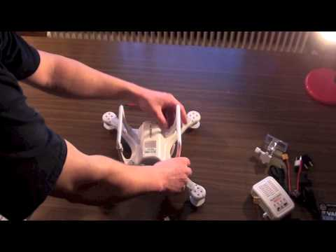 DJI Phantom Quadrocopter Unboxing und Zusammenbau German / Deutsch Preview / Review
