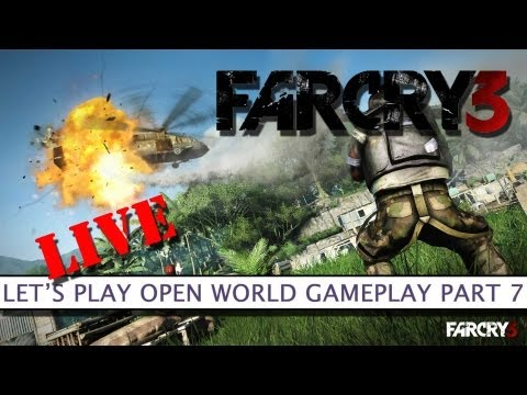Far Cry 3 - Let's Play Open World Gameplay LIVE Part 7 - Platform32
