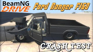 BeamNG DRIVE crash test Ford Ranger F 150 1984 V8