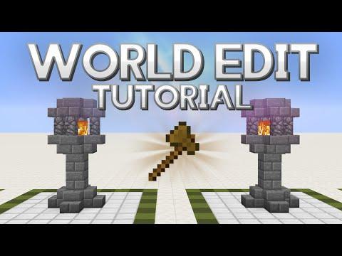 World Edit tutorial 1.11   Descargar y funciones básicas   Español 2017   Minecraft