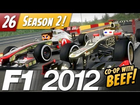 F1 2012 Co-op with VintageBeef - E26 - Stunt Driver
