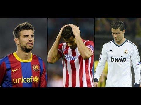 La Liga perde i pezzi: infortuni per Diego Costa, Piqué e CR7
