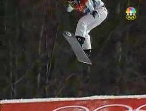 06 Winter olympics fall down in the cross final
