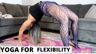 YOGA STRETCHES FOR FLEXIBILITY