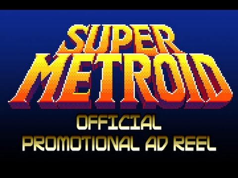 Super Metroid Official Nintendo Ad Reel 3/19/1994