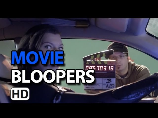 Resident Evil: Retribution (2012) Bloopers Gag Reel