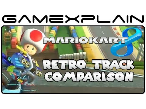 Mario Kart 8 Retro Tracks Head-to-Head Comparison 2 (Wii U vs. GBA, DS, Wii, 3DS)