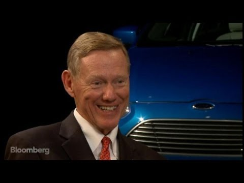 Alan Mulally: I've Fallen in Love With Ford