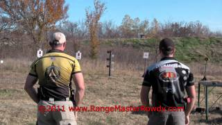 Dueling Tree for Small Caliber Centerfire Handguns by RangeMaster Rowdy™