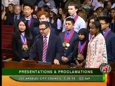 El Camino Real Charter High School - Los Angeles City Council Presentation