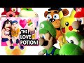 SML Movie: The Love Potion! Mario And Luigi Reaction (Foxy,Freddy,Pikachu,Bowser Jr,Chica & Yoshi)