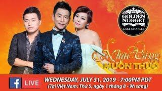 Livestream với Ngọc Anh, Trần Thái Hòa, Đăng Vinh - July 31, 2019