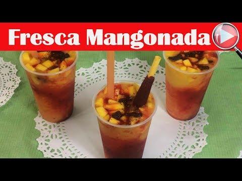 Mangonada - Chamoyada - Como hacer Mangonadas - Recetas en Casayfamiliatv