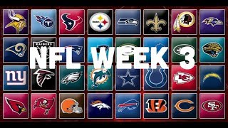 NFL Week 3 Picks & Predictions 2018 | 2019