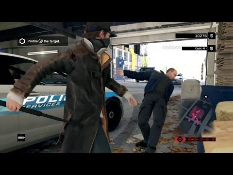 Watch Dogs NEW PLAYSTATION 4 GAMEPLAY [ [HD]