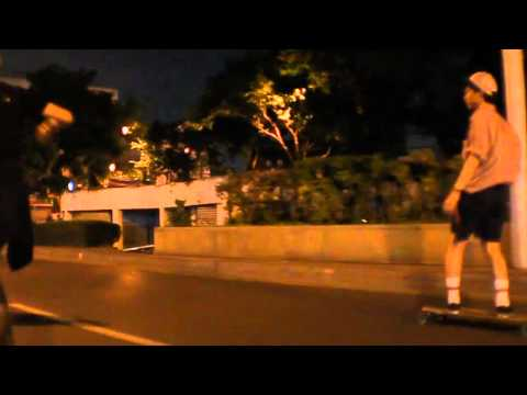 Thailand Longboard – Pushing Through The Night