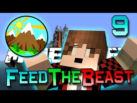 Minecraft: Feed The Beast Ep. 9 - Big Mountain Quarry! (modded Survival Series) video