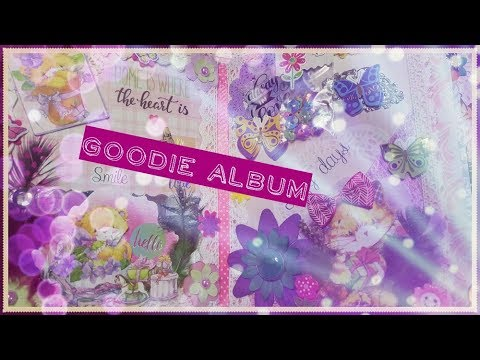 Album ♥ Goodie Album ♥ Mixed Media ♥ Aniamls/Tiere  (Stanzblock Action)