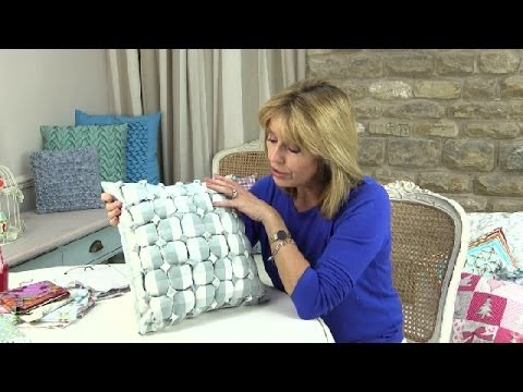Smocking Patterns For Cushions Canadian Smocked Box Cushion