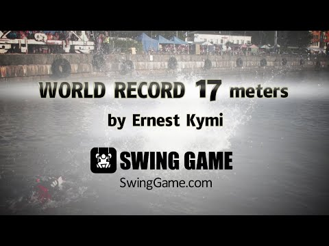 Swing Game World Record – Swing Jumping World Championships 2014 – Kotka, Finland