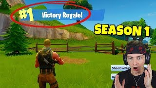 if you want to go back to season 1 fortnite watch this... (old fortnite)