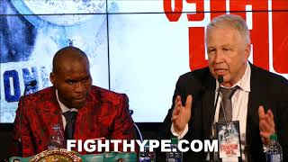 STEVENSON'S PROMOTER EXPLAINS WHY HE WON THE FIGHT; INSISTS REMATCH WITH JACK MUST BE IN CANADA