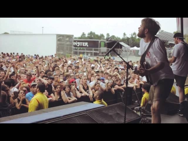 ENTER SHIKARI - Warped Tour 2014. #1 [first two days live montage].