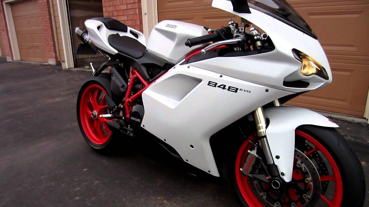 Matte White Ducati