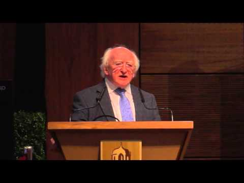 NUI Galway Coimbra - President of Ireland, Dr Michael D. Higgins
