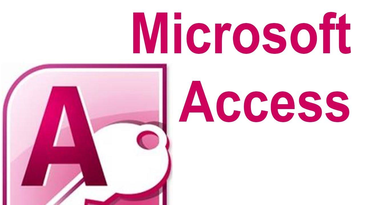 изображение в access: