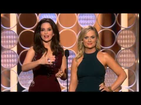 Golden Globes 2014: Tina Fey and Amy Poehler's opening speech - video