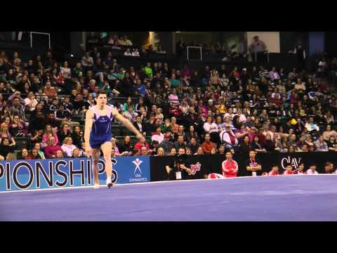 Chris Brooks - Floor Exercise Finals - 2012 Kellogg's Pacific Rim Championships - 4th