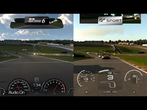 Gran Turismo 6 vs Gran Turismo Sport - Early Comparison