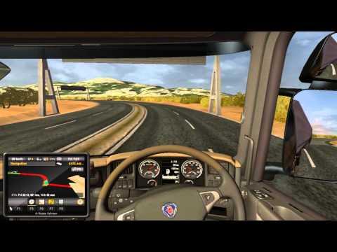 Euro Truck Simulator 2 | Tunis/Algeria TSM MAP MOD